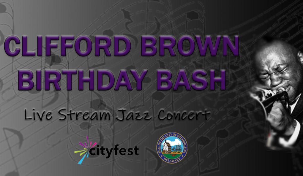 Clifford Brown Birthday Bash Banner